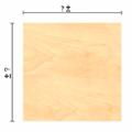 Предельные отклонения размеров листов фанеры