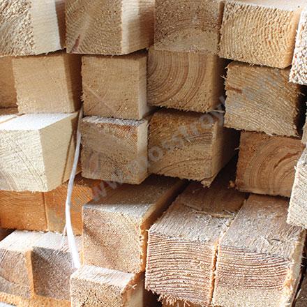 Деревянные бруски в широком ассортименте на нащих складах